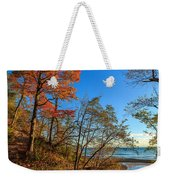 Fall Trails Weekender Tote Bag