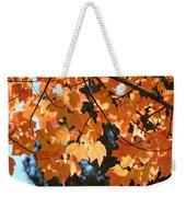 Fall Tree Art Prints Orange Autumn Leaves Baslee Troutman Weekender Tote Bag