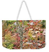 Fall Tree With Intense Colors Weekender Tote Bag