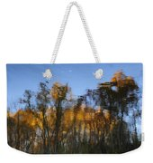 Fall Trees Reflected Weekender Tote Bag
