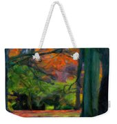 Fall Woods Weekender Tote Bag