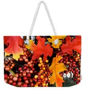 Fall Wreath Weekender Tote Bag