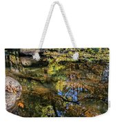 Fall Into Seasons Weekender Tote Bag