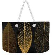 Fallen Gold II Autumn Leaves Weekender Tote Bag