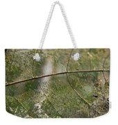 fallen Leaf Weekender Tote Bag by Debbie Cundy