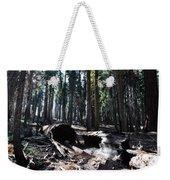 Fallen Sequoia Crescent Meadow Trail Weekender Tote Bag