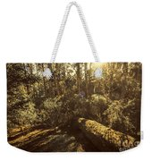 Fallen Tree In Foliage Weekender Tote Bag