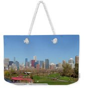 Falling For Chicago Weekender Tote Bag