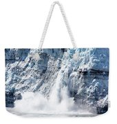 Falling Ice In Alaska Weekender Tote Bag