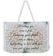 Falling In Love 3 Weekender Tote Bag