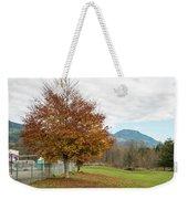 Falling Leaves In Silo Park Weekender Tote Bag