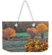 A Fall Day.  Weekender Tote Bag