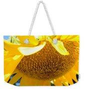 Falling Sunflower Weekender Tote Bag