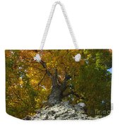 Falling Tree Weekender Tote Bag