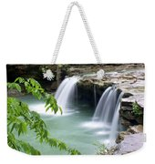 Falling Water Falls 4 Weekender Tote Bag