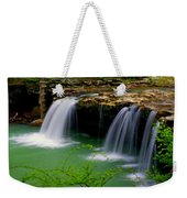 Falling Water Falls Weekender Tote Bag