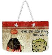 Fallout Weekender Tote Bag