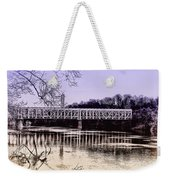 Falls Bridge Weekender Tote Bag