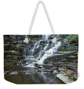 Falls Creek Gorge Trail Reflection Weekender Tote Bag