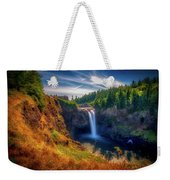 Falls From Up High Weekender Tote Bag
