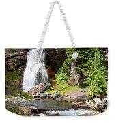 Falls Glacier National Park1 Weekender Tote Bag