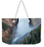 Yellowstone National Park Waterfalls Weekender Tote Bag