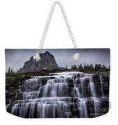 Falls In Glacier Weekender Tote Bag