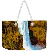Falls Of The Yellowstone Weekender Tote Bag