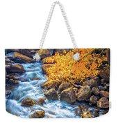Fall's Rush To South Lake Weekender Tote Bag