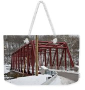 Falls Village Bridge 1 Weekender Tote Bag
