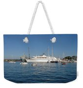 Falmouth Harbour Weekender Tote Bag by Rod Johnson