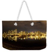 False Creek At Night Weekender Tote Bag