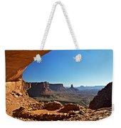 False Kiva Moab Utah Weekender Tote Bag