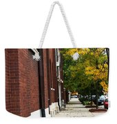 Familair Streets To An Old Women Weekender Tote Bag