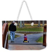 Family - A Father's Love Weekender Tote Bag