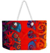 Family  Weekender Tote Bag by Angelina Vick