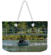 Family Boating If Forest Park Weekender Tote Bag