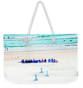 Family Day At Beach Weekender Tote Bag