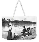 Family Fishiong Weekender Tote Bag