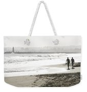 Family Fun At The Beach Weekender Tote Bag