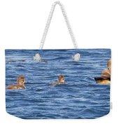 Family Geese Weekender Tote Bag