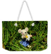 Family Mouse On The Spring Meadow Weekender Tote Bag