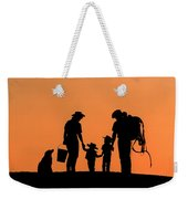 Family Of The West Weekender Tote Bag