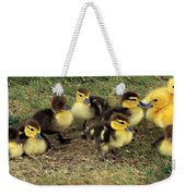 Family Portrait Weekender Tote Bag by Angelina Vick