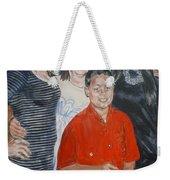 Family Portrait Weekender Tote Bag