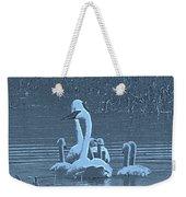 Family Swim Weekender Tote Bag