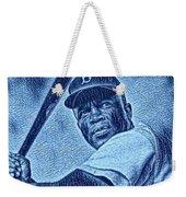 Famous Jackie Robinson Weekender Tote Bag