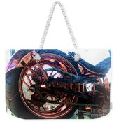 Famous Liberty Bike Copper Ny Weekender Tote Bag