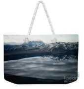 Famous Mountain Askja In Iceland Weekender Tote Bag