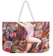 Fan Dance Unveiled Weekender Tote Bag
